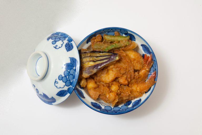 「上天丼」1,450円(夜は1,500円、税込)