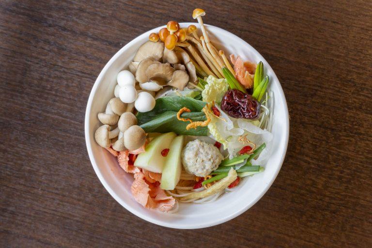 「健彩麺セット」(ランチ)1,000円