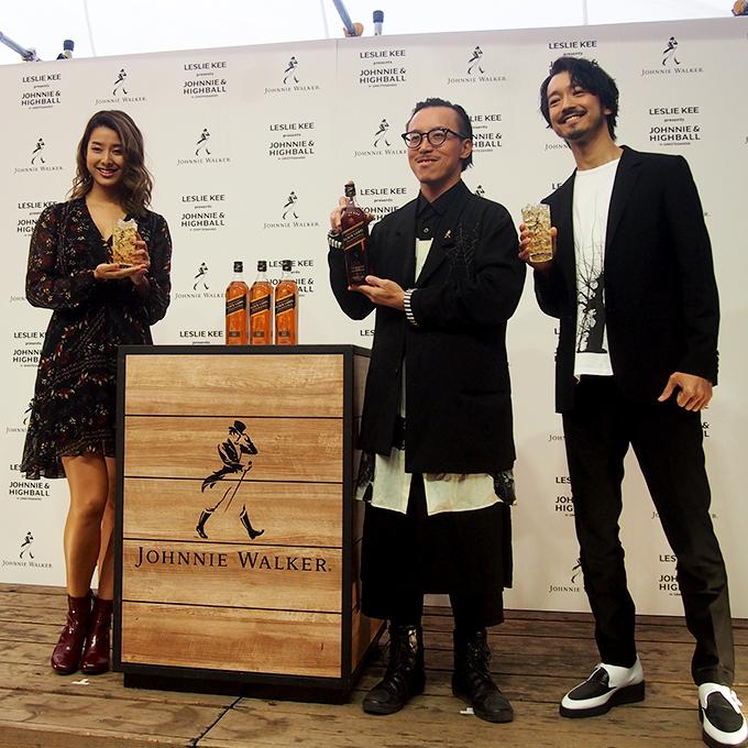 初日のイベントには、プロデューサーのレスリー・キーさんと、その友人であるすみれさん、金子ノブアキさんも登壇。