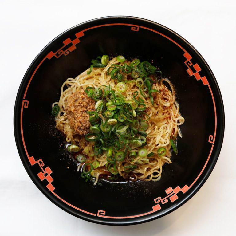 広島式汁なし担担麺580円(税込)