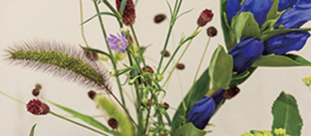 茶房野の花