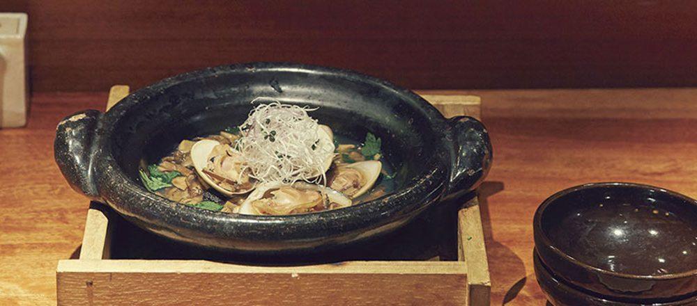 魚匠 銀平 丸の内店[6F]の キノコとハマグリ鍋