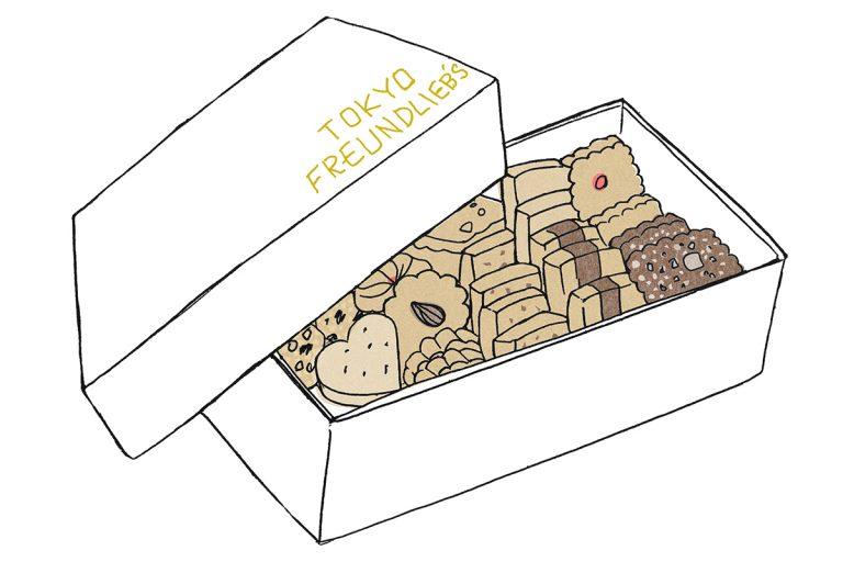 「クッキー角箱」S 2,640円