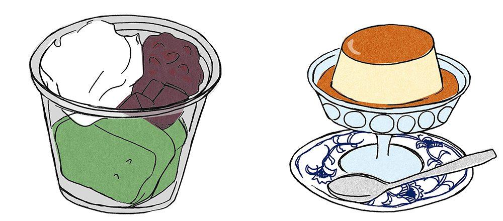 都内の老舗甘味処・喫茶店、おすすめデザートとは?【抹茶ババロア・ジャンボプリン】