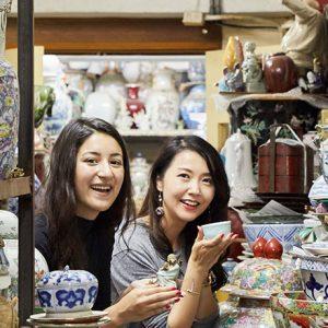 香港ショッピングは、伝統の陶磁器工房〈粤東磁廠〉でとっておきの食器をゲット!