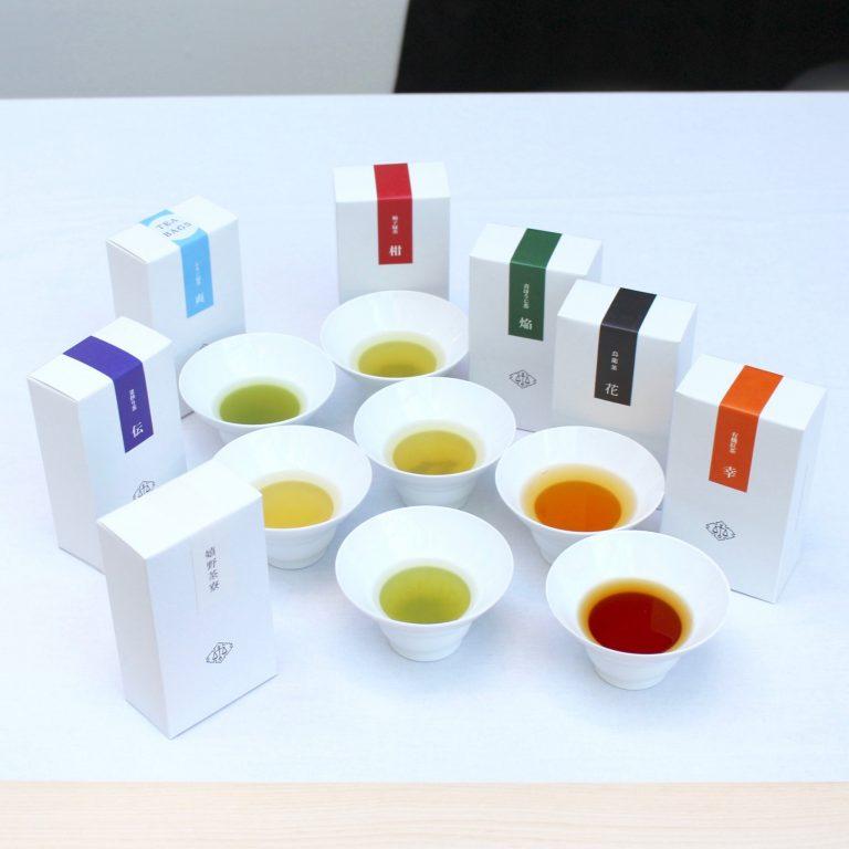 会場では茶葉(税込1,000円)も販売中。