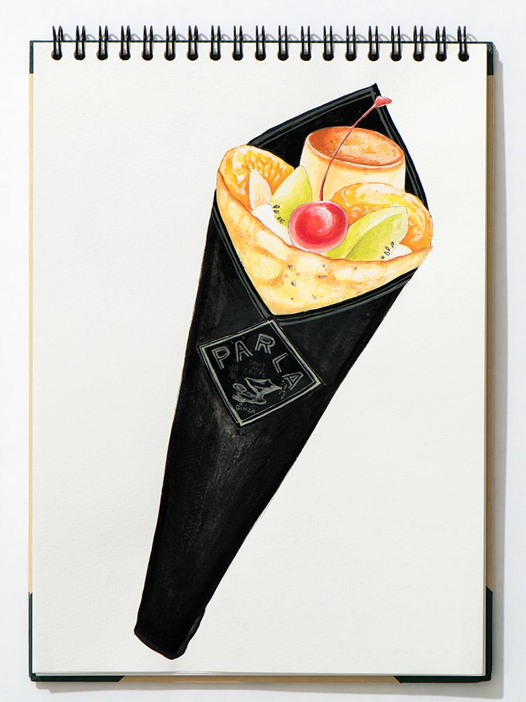 「プリン・ア・ラ・モード」1,400円