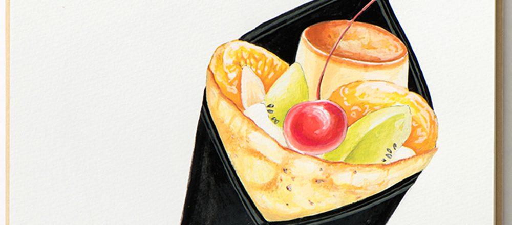 銀座に行くなら食べたい!注目店の人気スイーツ3選【クレープ・ジェラート・エクレア】