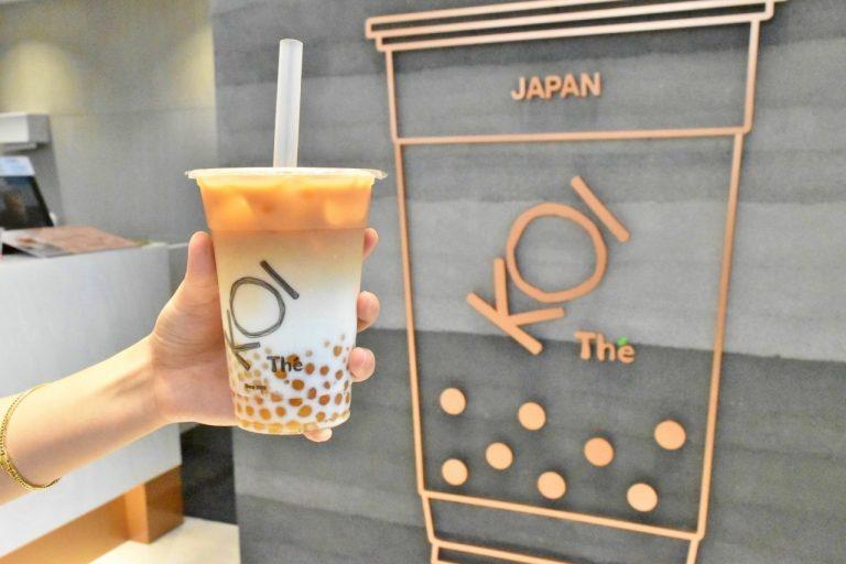 賞味期限2時間の新鮮なタピオカを使用。〈KOI Thé(コイ・ティー)〉が関東初上陸!!