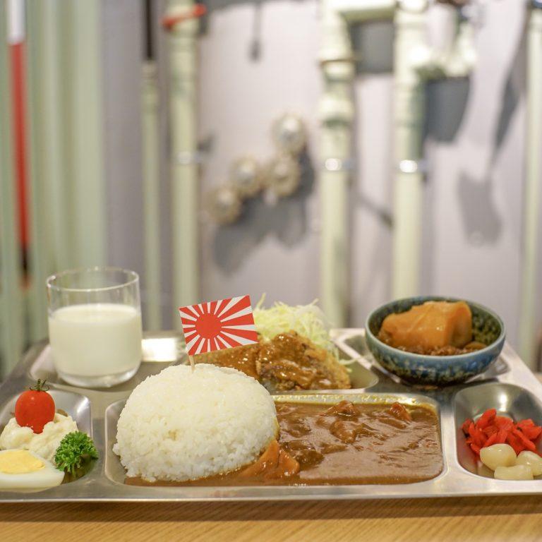 #海自カレー #呉ハイカラ食堂