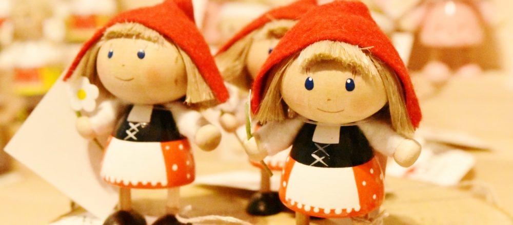 ノルディカニッセの人形は、お家に幸せを運び込んでくれると言われている人形です。