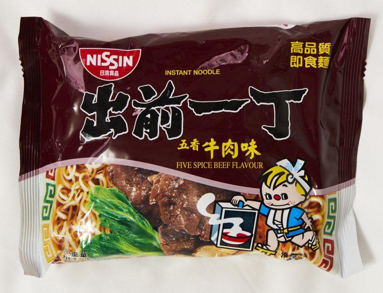「五香牛肉味」各HK$4.4