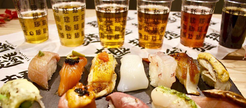 〈BEER TO GO〉で開催されたイベント『寿司×クラフトビールフェス』の魅力をレポート。