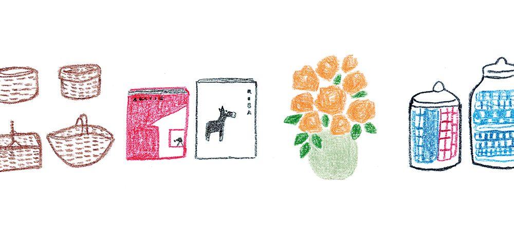 本・花・カゴ・布…インテリアを彩る小物使いとは?おしゃれなお店のあの人に聞いた。