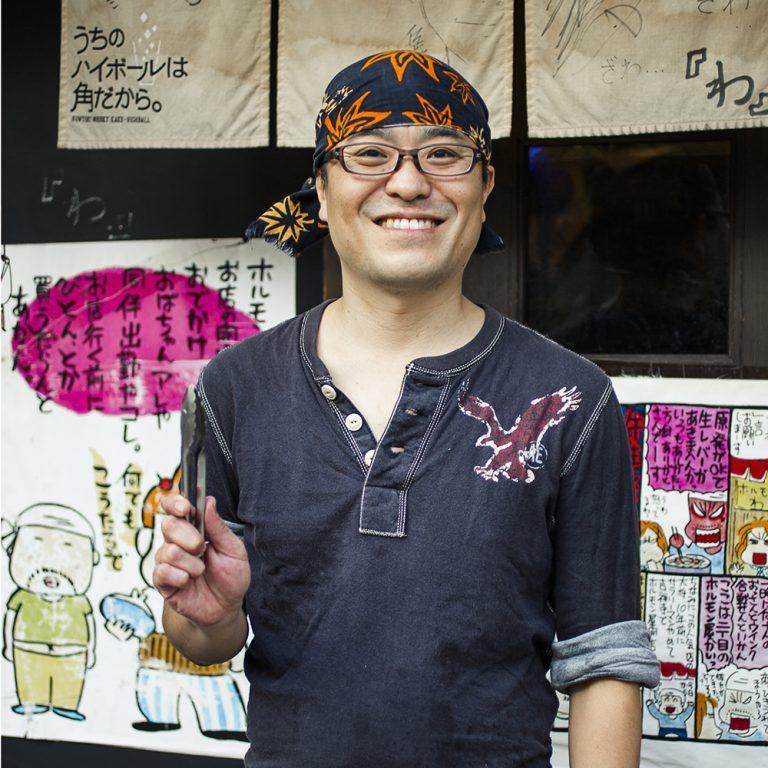 写真の小林剛店長も、もとはこの店の常連客だったとか。