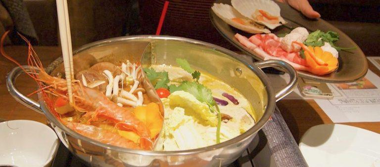 赤坂のタイ料理〈ギンカーオ〉の火鍋風「食べ比べエスニック鍋」でぽっかぽか!