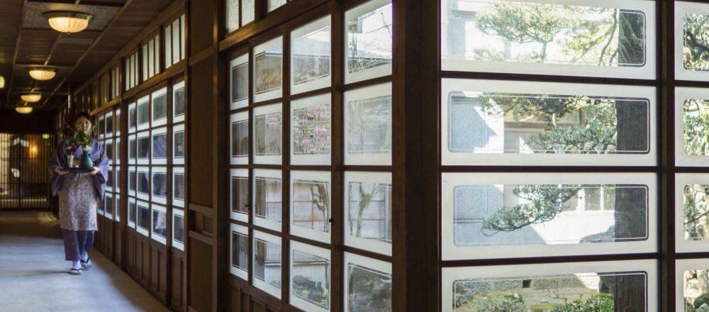 【静岡・湯ヶ島】温泉を満喫するなら、レトロ雰囲気な老舗ホテル〈落合楼 村上〉がおすすめ。