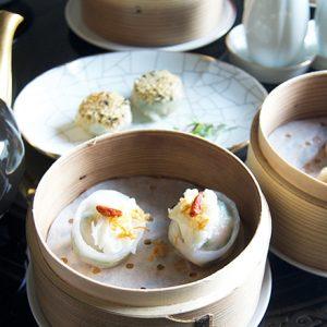 〈ウェスティンホテル東京〉の〈広東料理 龍天門〉でいただく飲茶アフタヌーンティー『下午茶』。