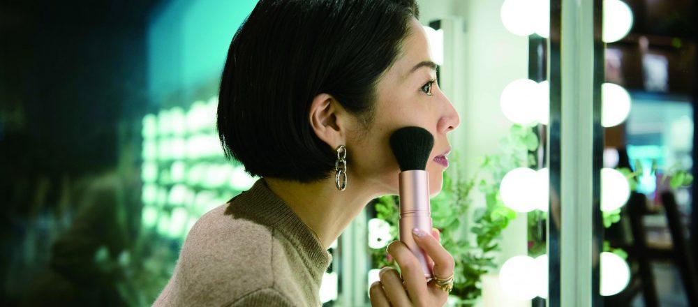 〈貝印〉 の特別イベントの美容セミナーでトレンドメイクを体験。