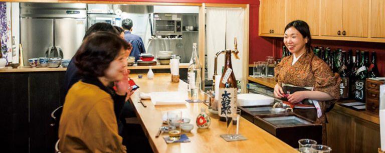 あなたもきっとハマる、日本酒ペアリング!バライティー豊かな日本酒専門店。