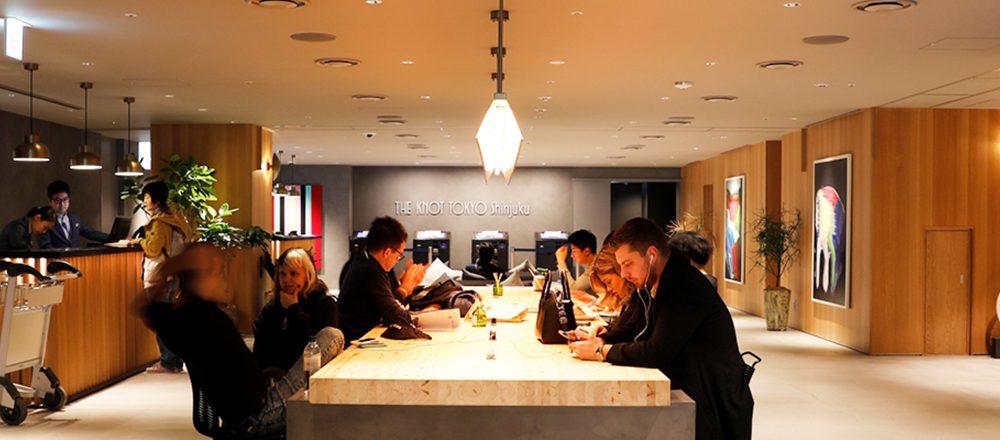 新宿にオープン!おしゃれな新感覚ホテル〈THE KNOT TOKYO Shinjuku〉が気になる!