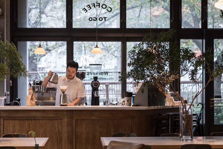 中目黒 The Workers Coffee/Bar