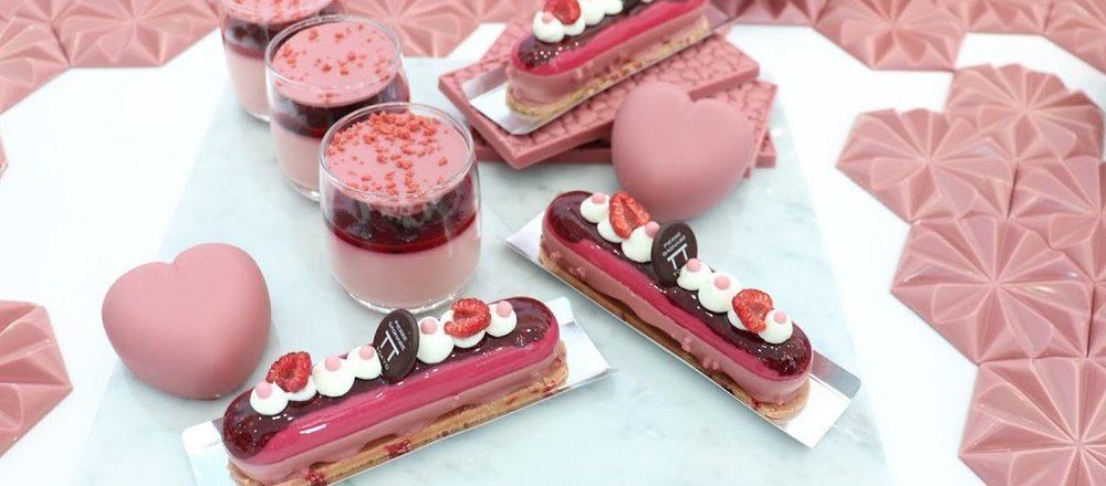 今年のバレンタインは、ピンクの「ルビーチョコレート」を贈ろう!心