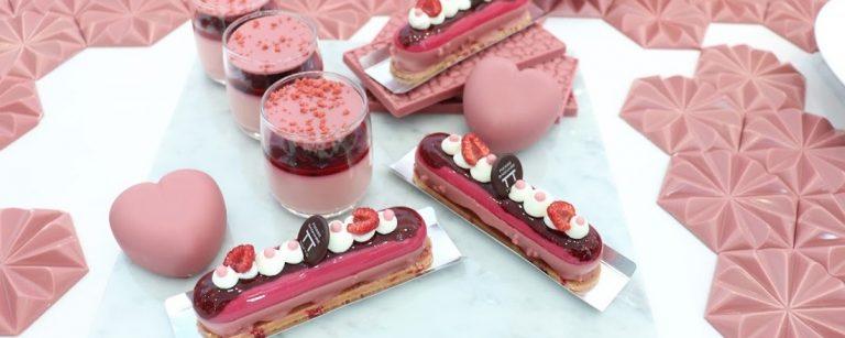 今年のバレンタインは、ピンクの「ルビーチョコレート」を贈ろう!心躍る限定スイーツをお届け。