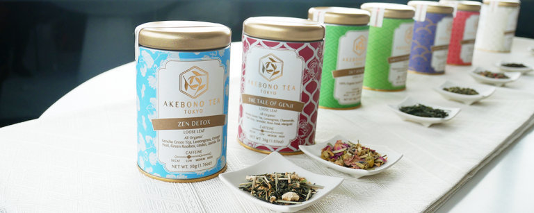 伝統的な日本茶にハーブをブレンド。1月28日発売の「AKEBONO TEA」が新しい!