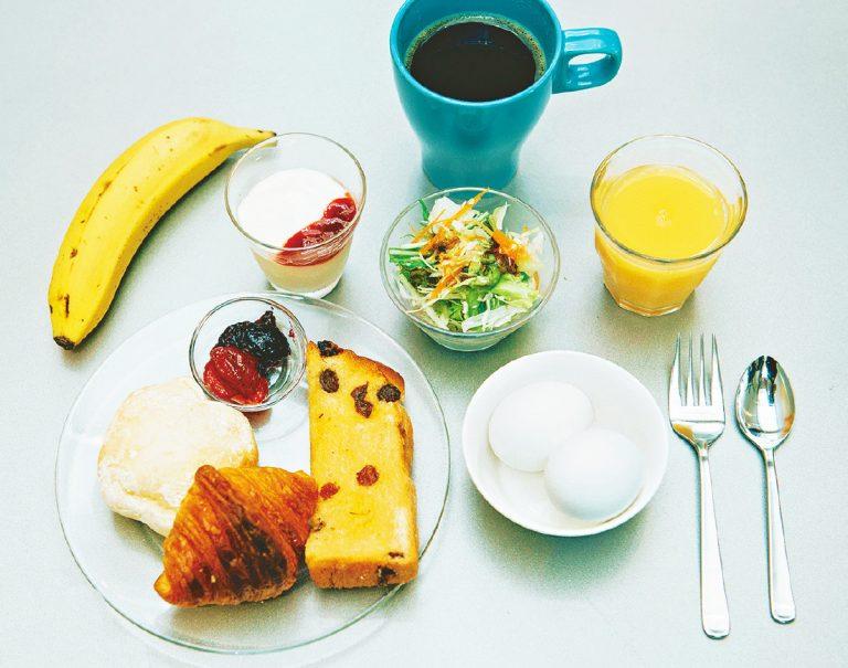 高知 〈7days Hotel Plus〉 朝食