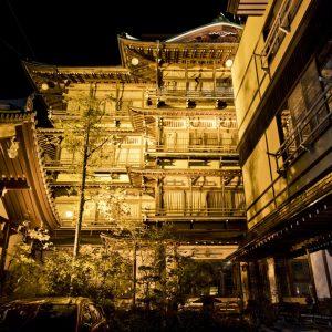 渋温泉 歴史の宿金具屋