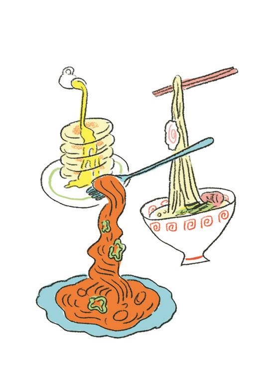 食品サンプル イラスト