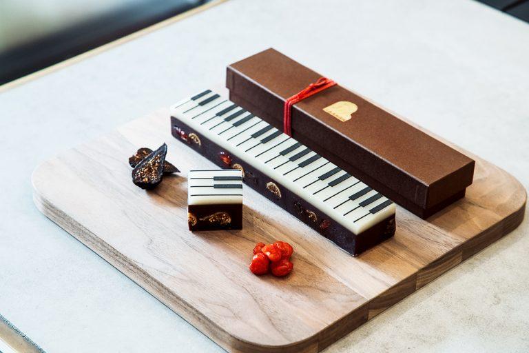 「ジャズ羊羹 chocolat」(3月中旬まで)(2,592円)(税込)