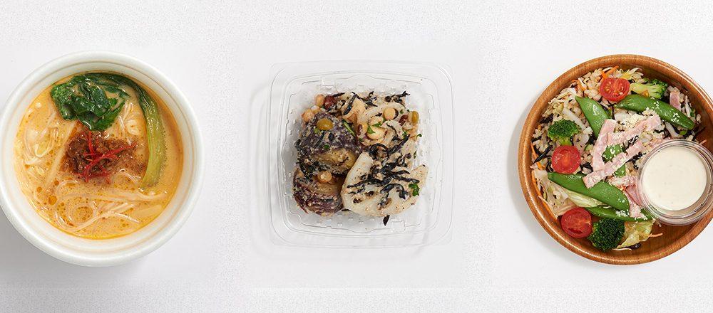 人気スーパー〈紀ノ国屋〉は、ヘルシーランチを彩るサラダやスープが充実!