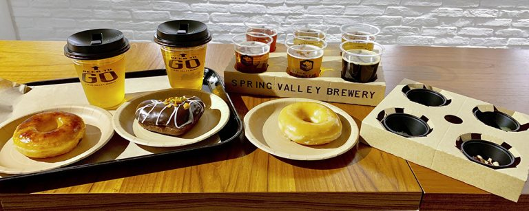 2/14まで〈BEER TO GO〉で開催の『Sweets×Craft beer』。スイーツとクラフトビールをペアリング。
