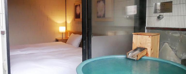 源泉100%かけ流し、客室露天風呂付き!大分県・湯布院の宿〈美星〉で1泊2日まったり旅。