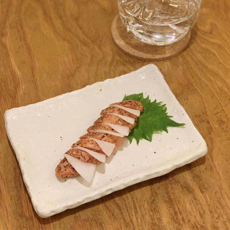 「炙り明太子」800円。