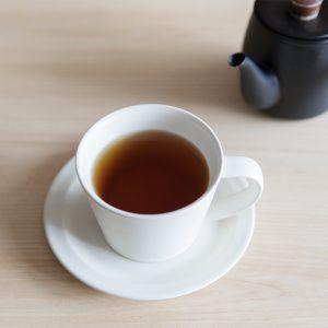 「甘羅漢食」で選べるドリンク6種のうち、2種が羅漢果を使ったオリジナルブレンドティー。羅漢果独特の甘みが生きるよう、茶師が配合を工夫している。