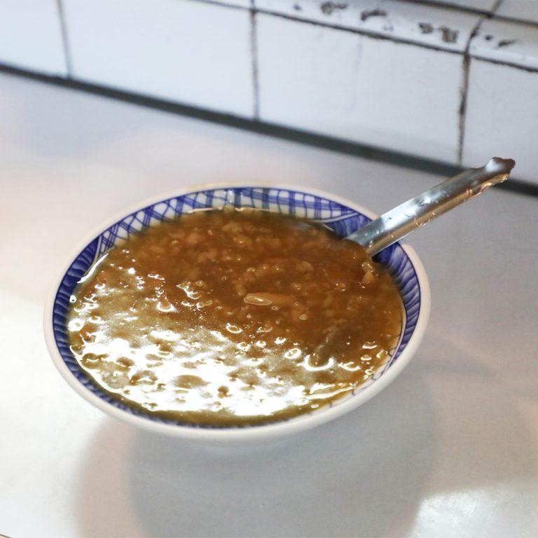 台湾 江水號 「米糕粥」