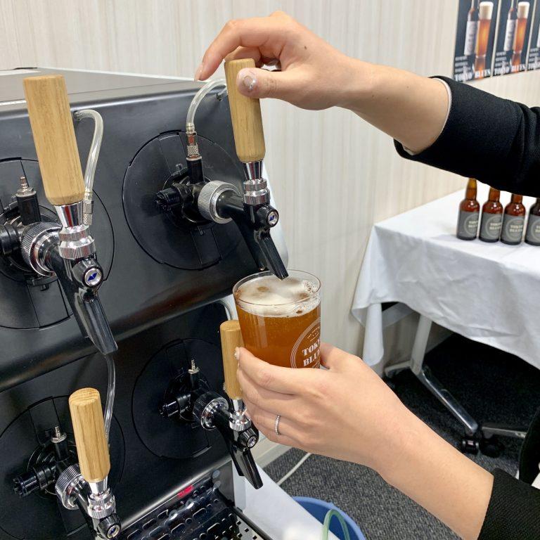 アルコール度数は4.5%。お酒に弱い人にも、優しいクラフトビール。