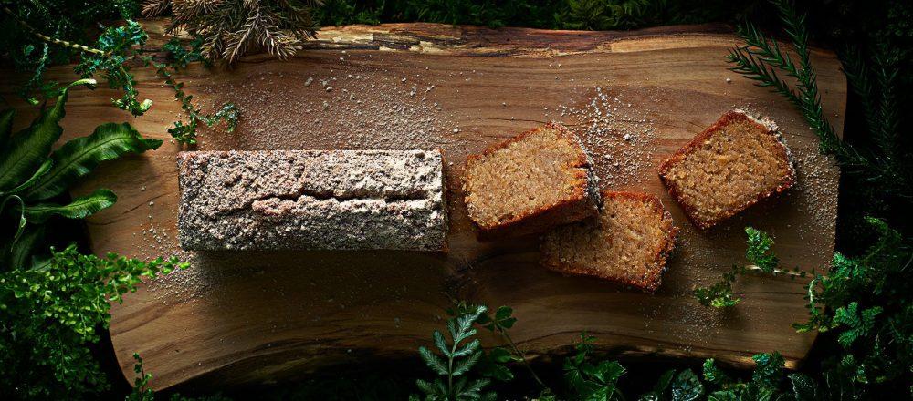 木から作ったパウンドケーキ?森の間伐材でうまれた「Eatree Cake 〜木から生まれたケーキ〜」。