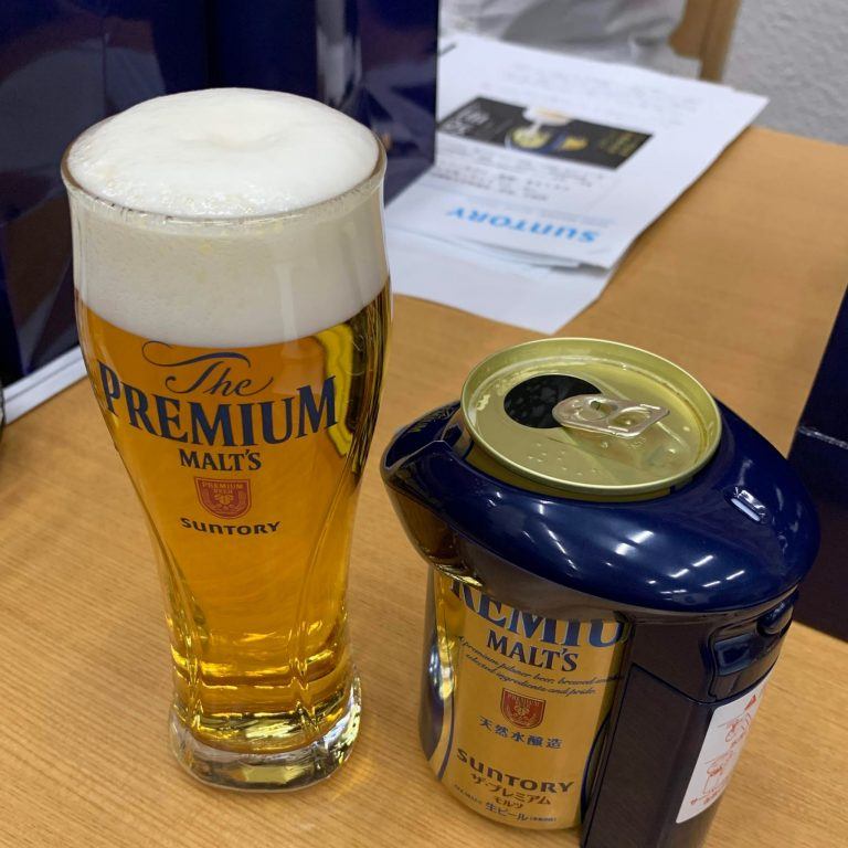リッチな神泡のプレモルは、仕事終わりに家で飲む、1杯のご褒美ビールに最適!