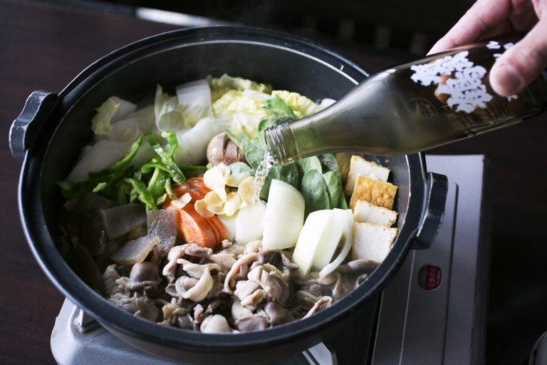 「元祖 美酒鍋」1人1,760円。注文は2人前から。