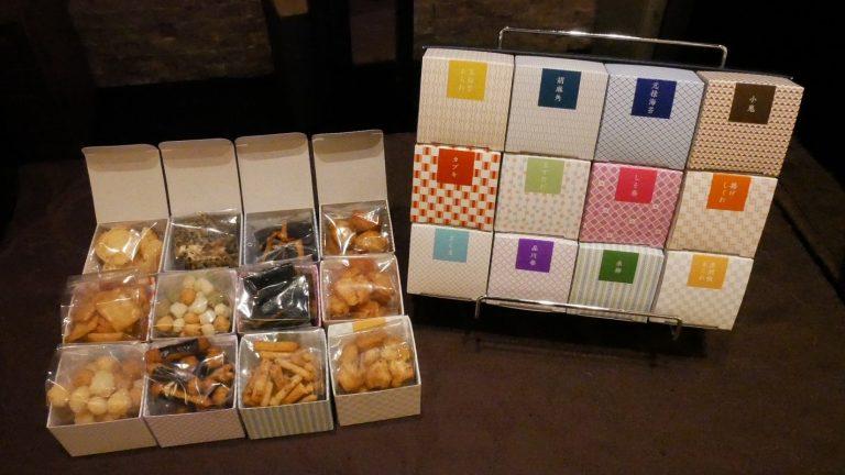 〈銀座 松﨑煎餅〉のおせんべい