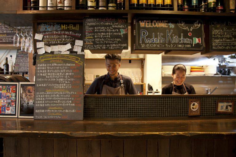 滝谷さんと荒川さんの穏やかな人柄も店の魅力。