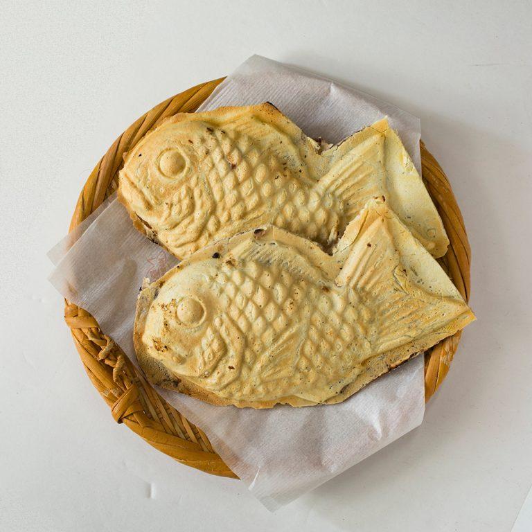 「高級鯛焼き」1個 160円(各税込)