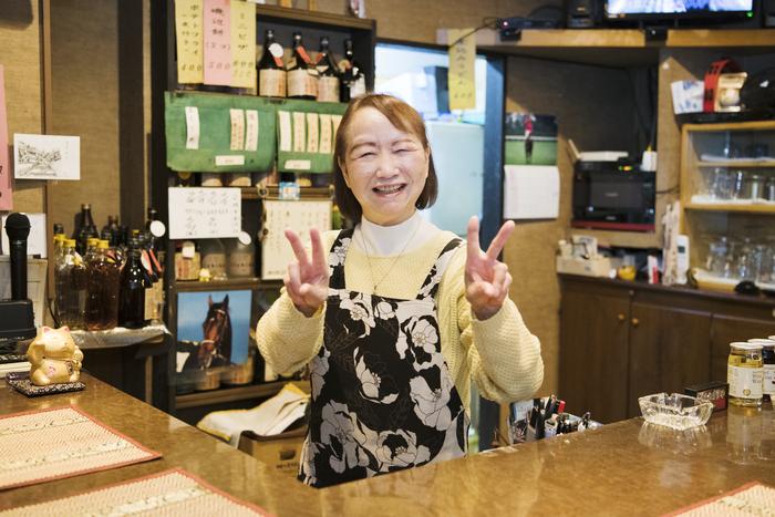 荻窪〈家庭料理とお酒 ひろこの店〉弘子ママ