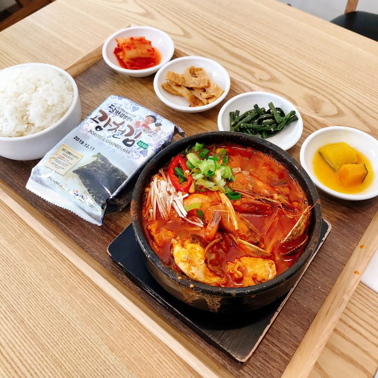 ホノルル Seoul Tofu House