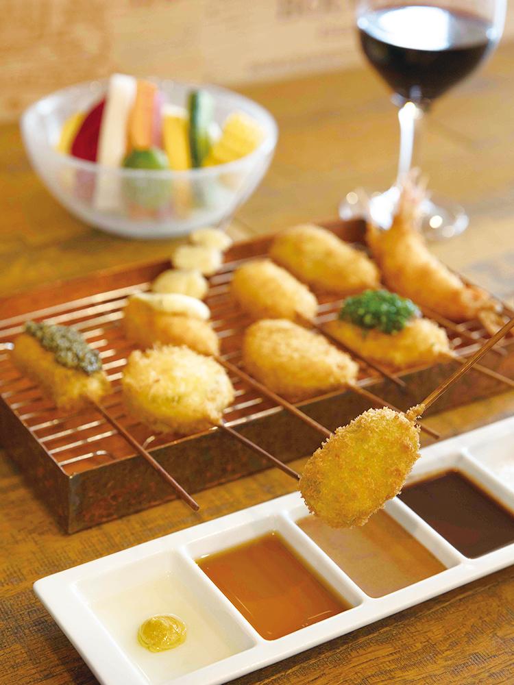 銀座 ワインと串カツ GINZA六覺燈Vin