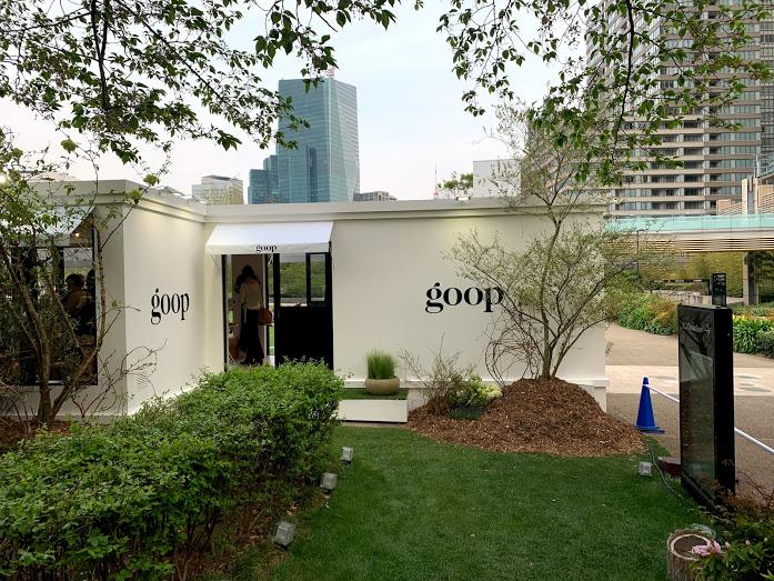 六本木 goop TOKYO pop-up & café